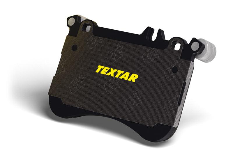 Новые амортизирующие прокладки для тормозных колодок TEXTAR