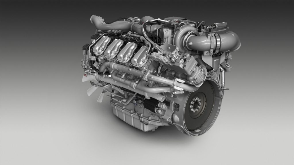 Новый двигатель V8 от Scania – новые возможности