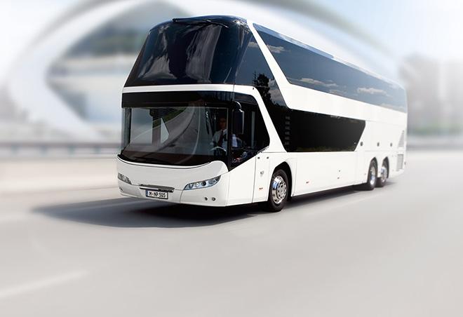 Обновленный автобус от Neoplan