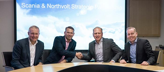 Партнерство Scania и Northvolt