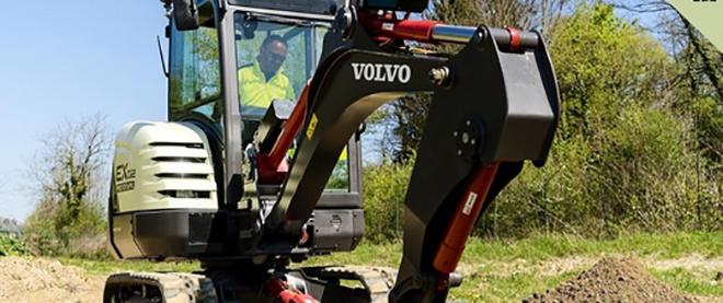 Электрический экскаватор Volvo CE награжден за революционную конструкцию