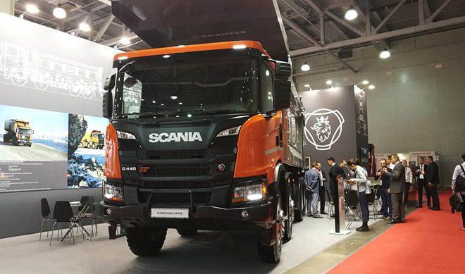 Продажи нового самосвала Scania Heavy Tipper G440 начнутся в России в 3 квартале