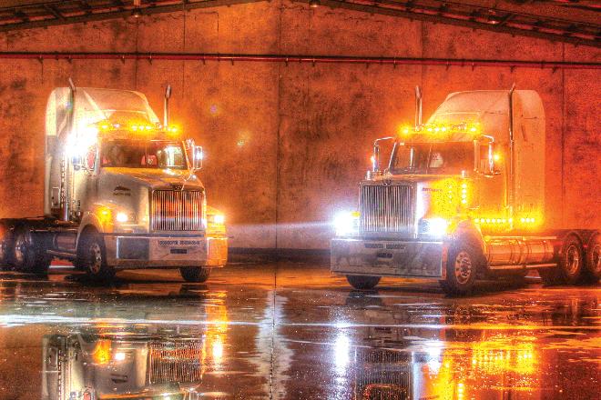 Дополнительное освещение на грузовик